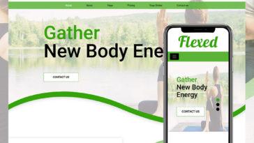 Responsive Free Website Templates - HTML Design