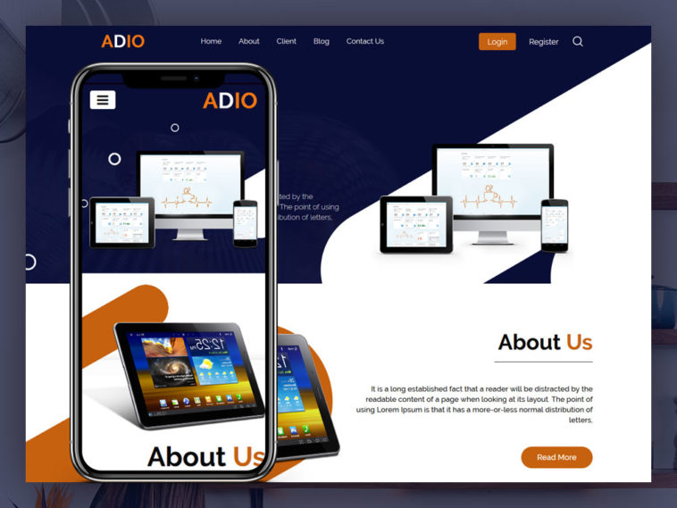 Adio - Classified Website Html Template