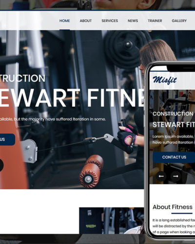 Fitness HTML Template Free Download