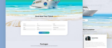 Travel Agency HTML Template Free