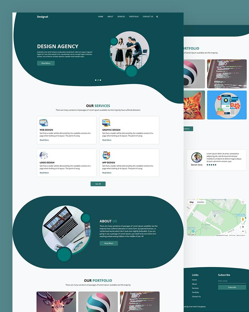 Designal – Design Agency HTML Template