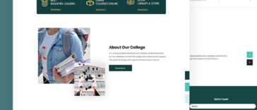 Joson – Education PSD Template Free Download