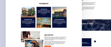 Construction HTML Template Free